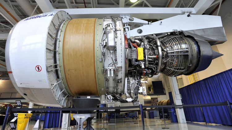 The Aerospace and Defense International Trade Summit drew suppliers from all over the world, including France, Israel and Italy. (Jessica Hill/ Associated Press)