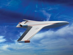 NASA believes hybrid turbine-electric distributed propulsion could be the future for ultra-efficient commercial aircraft. Credit: NASA