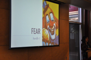 WordPress is there to show you how to handle your fear of website development! (Photo courtesy of Sharon Lee Kennedy Granger)